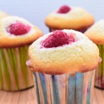 Raspberry Coconut Muffins 5