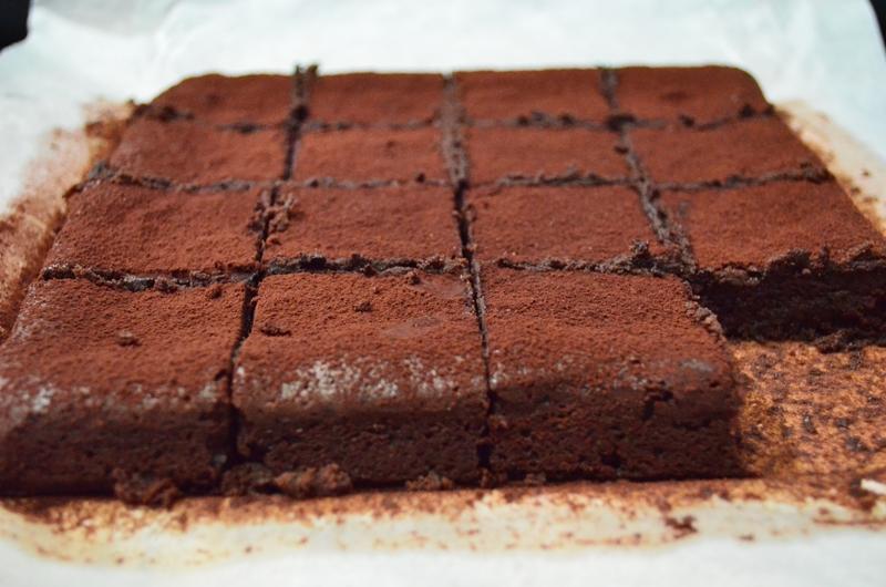 Truffle Brownies Recipe — Dishmaps