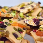 white chocolate bark pieces